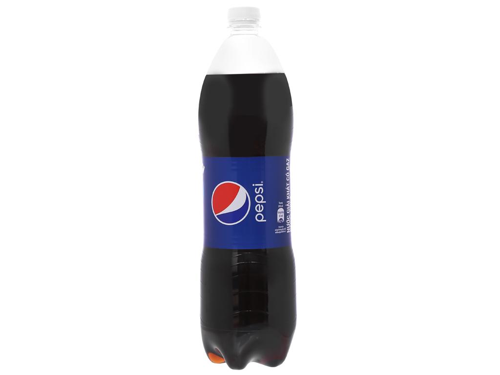 Thùng 12 chai nước ngọt Pepsi Cola 1.5 lít 2