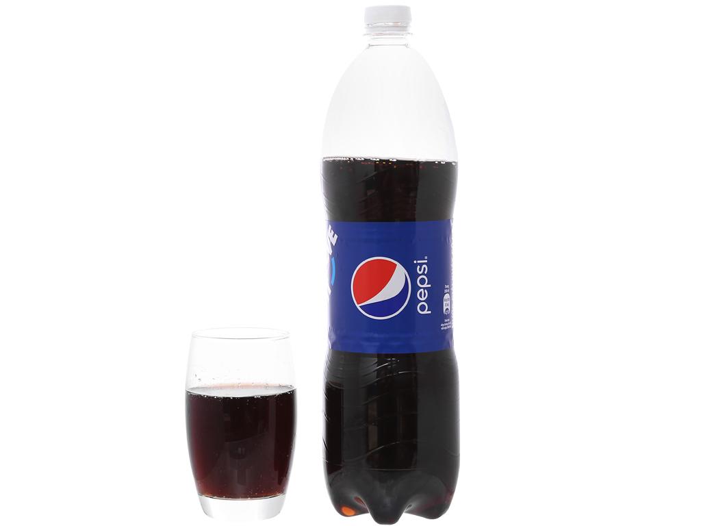 Thùng 12 chai nước ngọt Pepsi Cola 1.5 lít 4