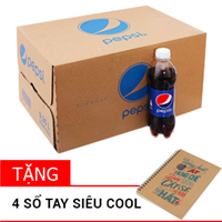 Thùng nước ngọt Pepsi chai 390ml (24 chai)
