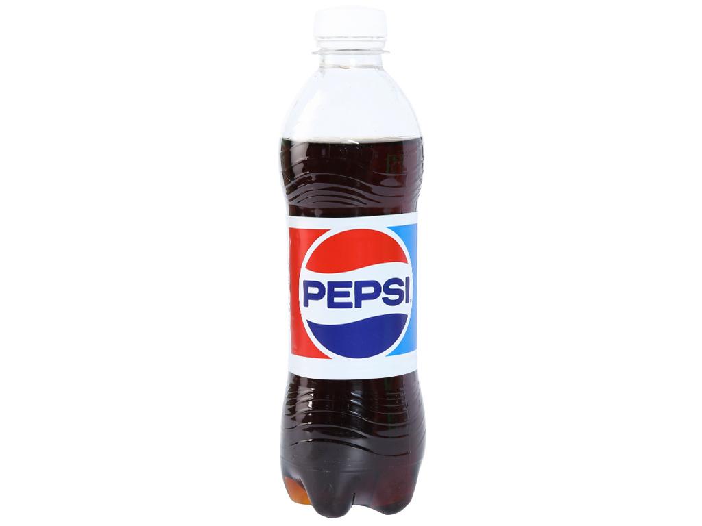 Thùng 24 chai nước ngọt Pepsi Cola 390ml 2