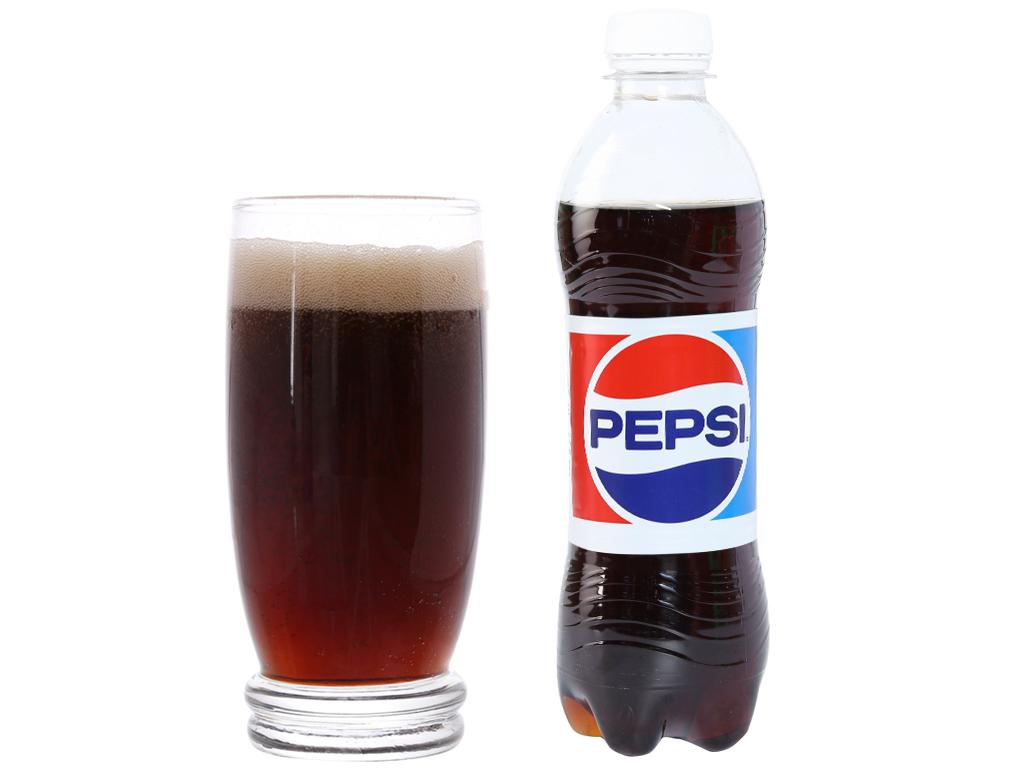 Thùng 24 chai nước ngọt Pepsi Cola 390ml 4