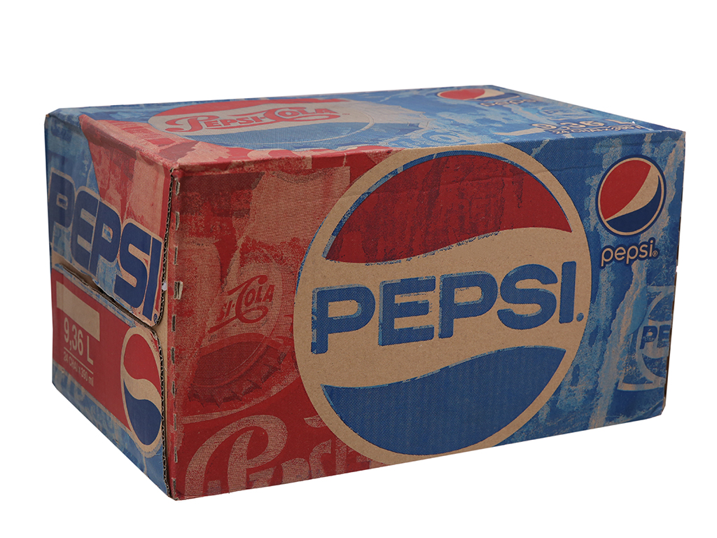 Thùng 24 chai nước ngọt Pepsi Cola 390ml 1