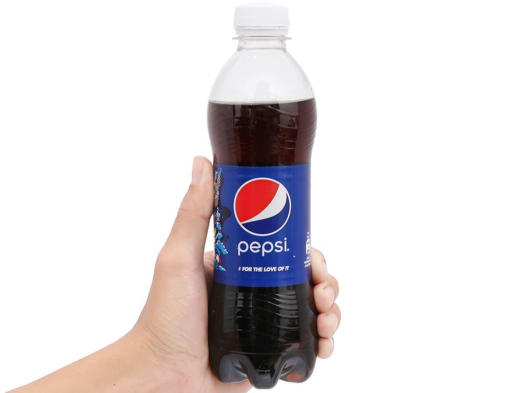Thùng 24 chai nước ngọt Pepsi Cola 390ml 14