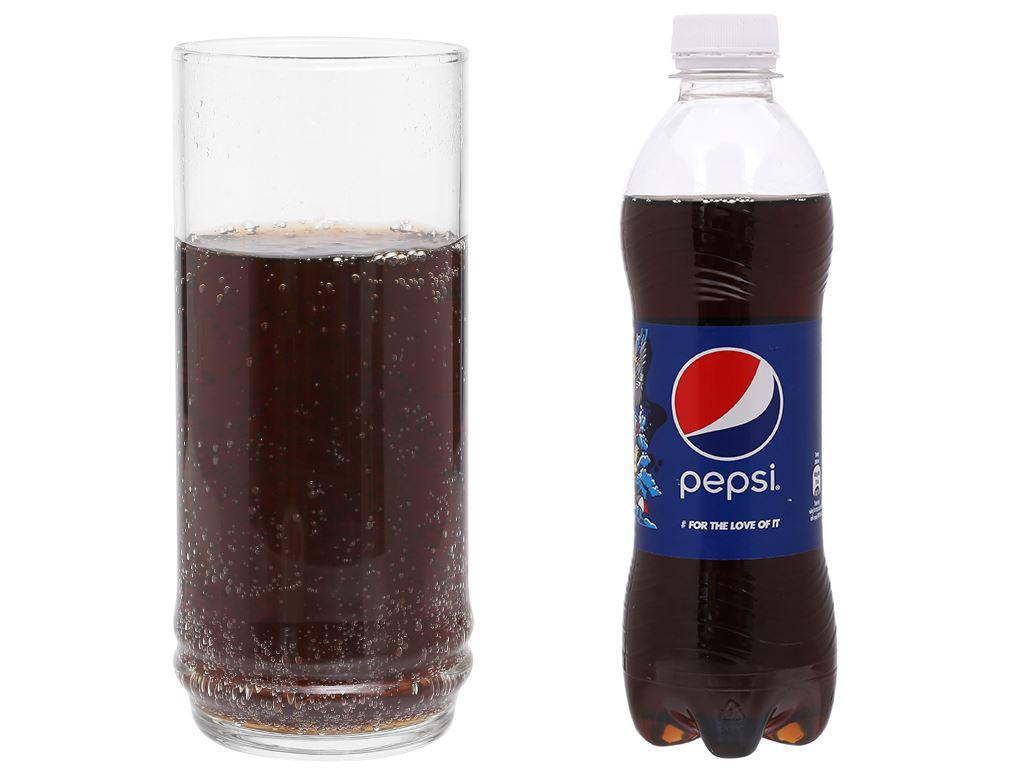 Thùng 24 chai nước ngọt Pepsi Cola 390ml 13