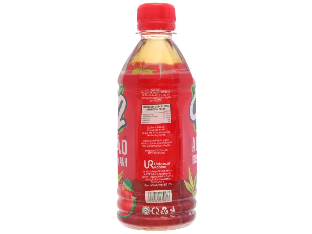 Thùng 24 chai trà xanh C2 hương táo 360ml 3