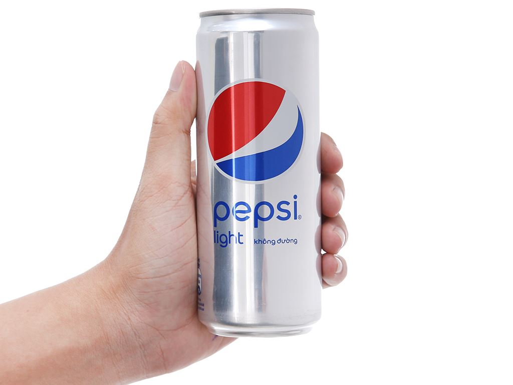 24 lon nước ngọt Pepsi Light 330ml 6