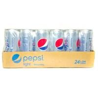 Thùng nước ngọt Pepsi Light Không đường lon 330ml (24 lon)
