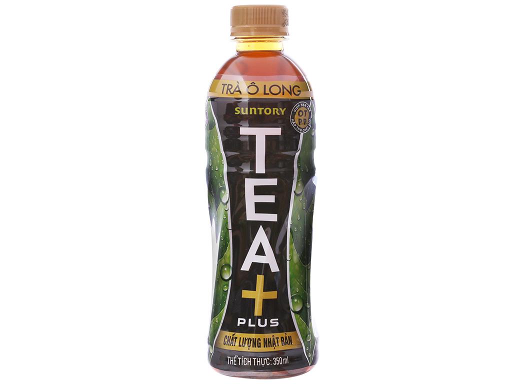 Thùng 24 chai trà ô long Tea Plus 350ml 2
