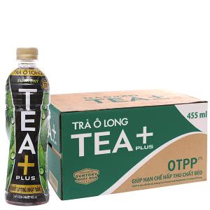 Thùng 24 chai trà Ô Long Tea Plus 455ml