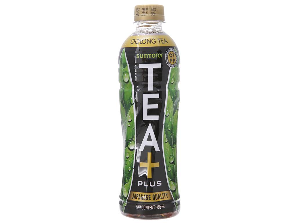 Thùng 24 chai trà Ô Long Tea Plus 455ml 2