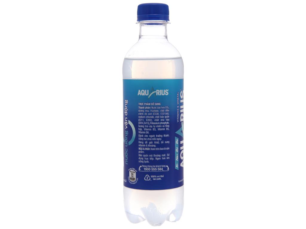 6 chai nước uống vận động Aquarius 390ml 3