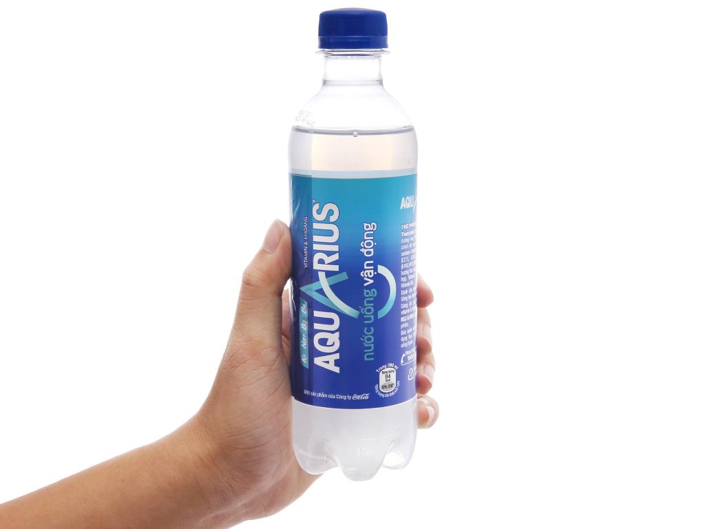 6 chai nước uống vận động Aquarius 390ml 4