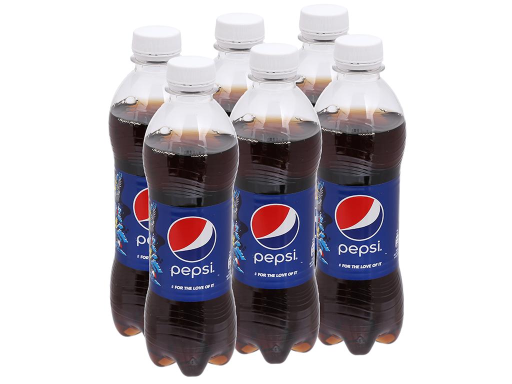 6 chai nước ngọt Pepsi Cola 390ml 9