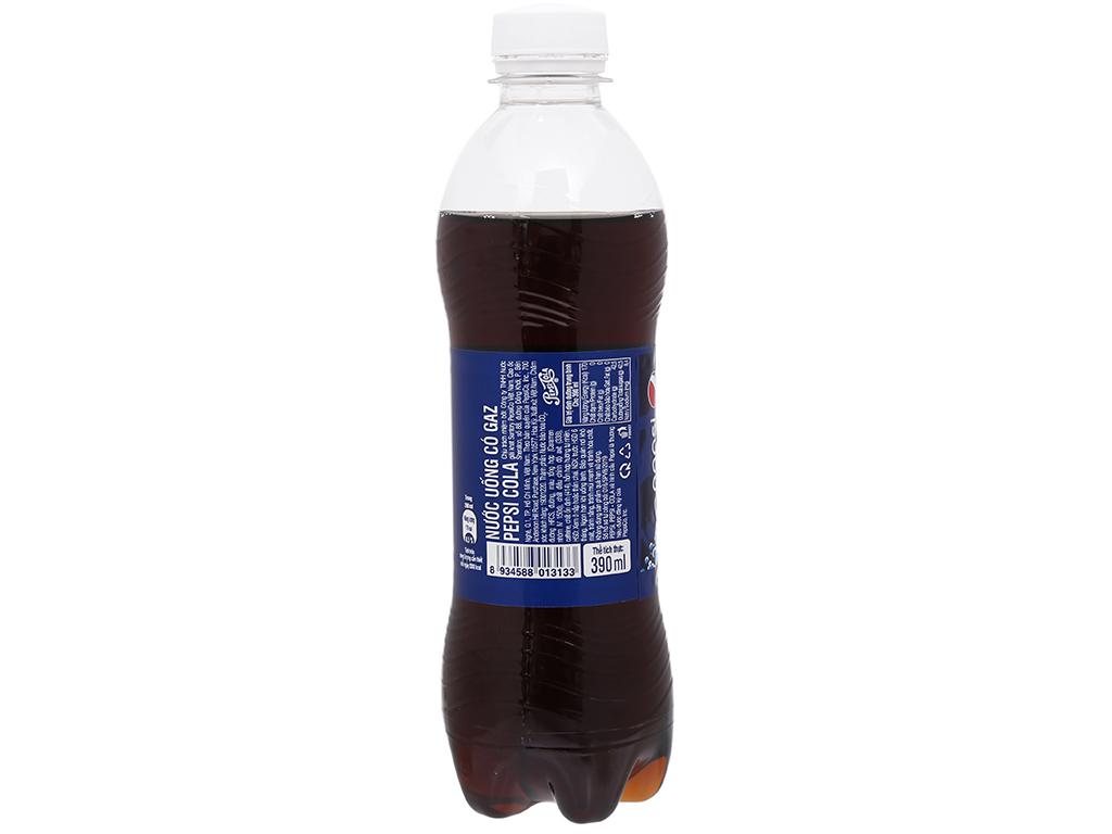 6 chai nước ngọt Pepsi Cola 390ml 13