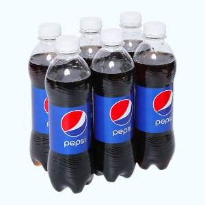 6 chai nước ngọt Pepsi Cola 390ml