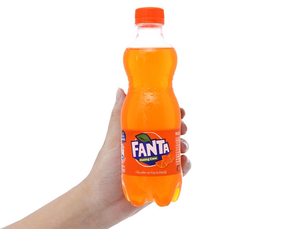 6 chai nước ngọt Fanta hương cam 390ml 6