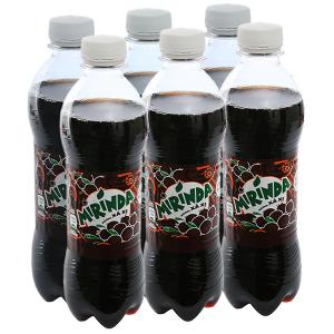 6 chai nước ngọt Mirinda hương sá xị 390ml
