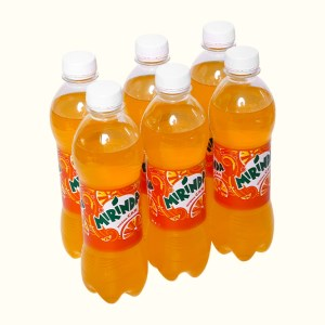 6 chai nước ngọt Mirinda hương cam 390ml