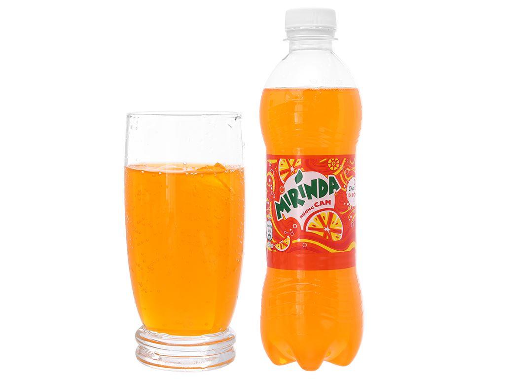 6 chai nước ngọt Mirinda hương cam 390ml 5
