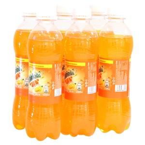 Nước ngọt Mirinda vị Cam cực mạnh chai 390ml (6 chai)