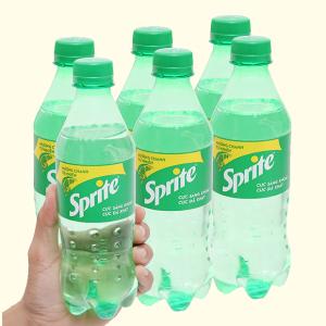 6 chai nước ngọt Sprite hương chanh 390ml