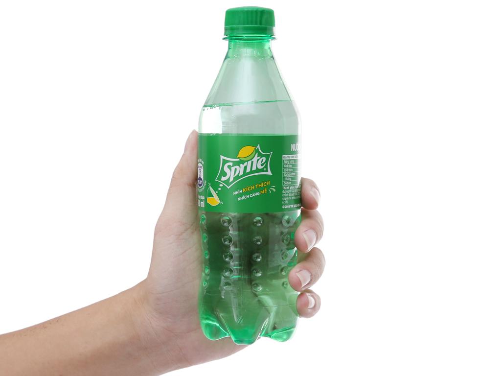 6 chai nước ngọt Sprite vị chanh 390ml 6