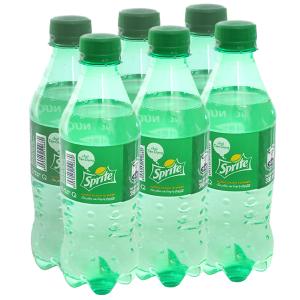 6 chai nước ngọt Sprite vị chanh 390ml