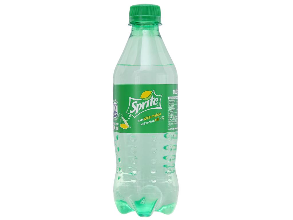 6 chai nước ngọt Sprite vị chanh 390ml 2