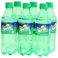 Nước ngọt Sprite hương Chanh chai 390ml (6 chai)