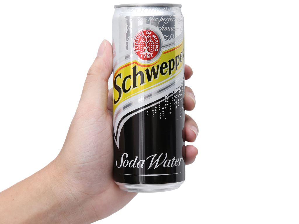 Soda Schweppes 330ml 4