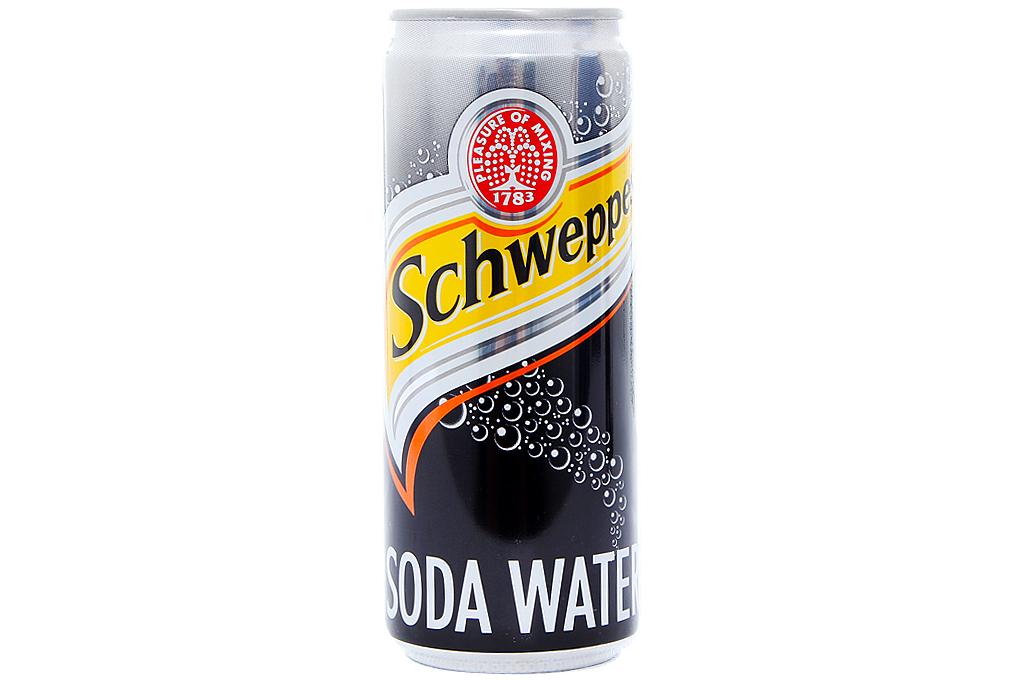 Nước ngọt Schweppes lon 330ml