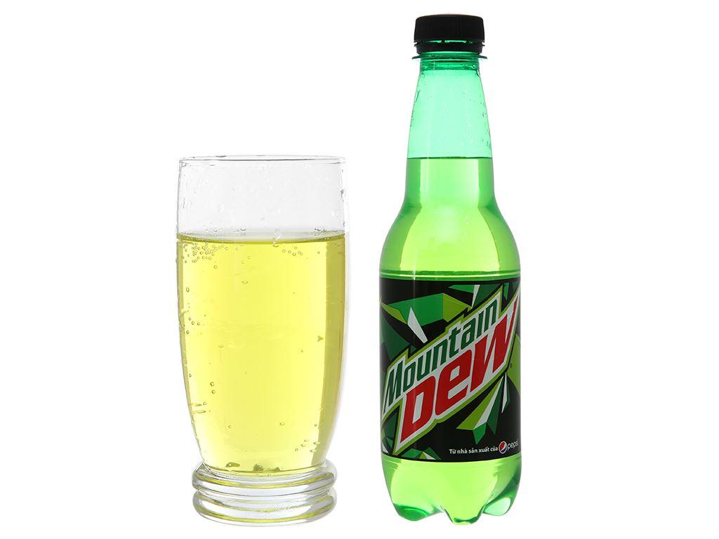 Thùng 24 chai nước ngọt Mountain Dew 390ml 5