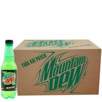 Thùng nước ngọt Mountain Dew chai 390ml (24 chai)