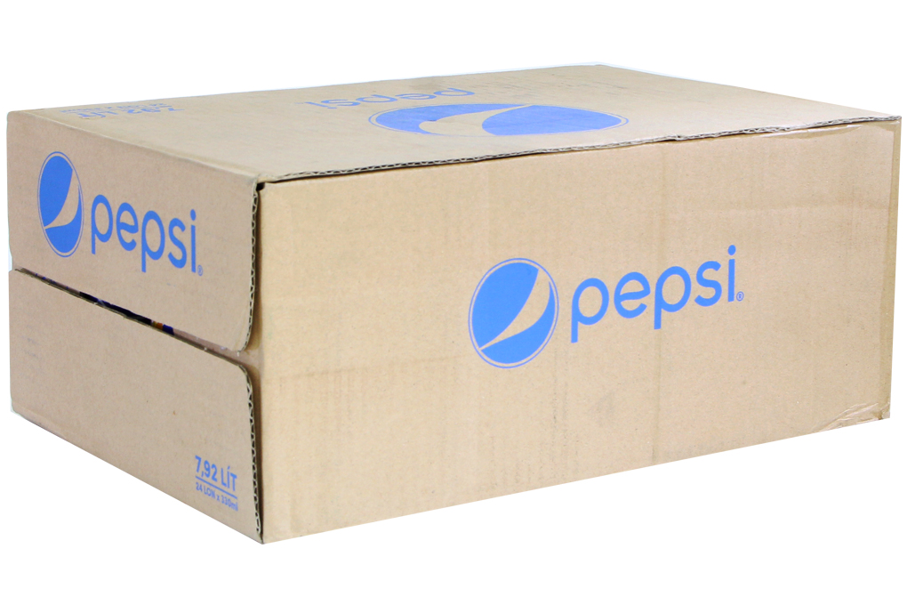 Nước ngọt Pepsi Cola lon 330ml (thùng 24 lon)