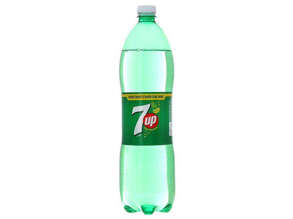 Thùng 12 chai nước ngọt 7 Up vị chanh 1.5 lít 3