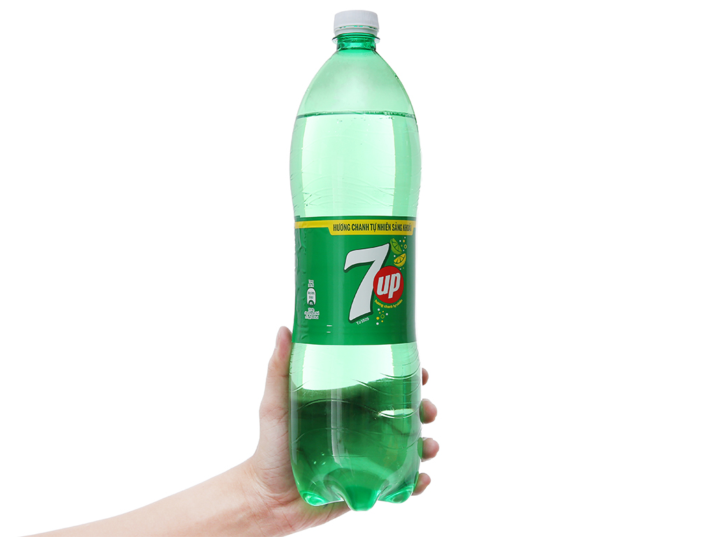 Thùng 12 chai nước ngọt 7 Up vị chanh 1.5 lít 6