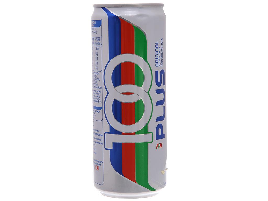 Nước ngọt 100Plus muối khoáng 325ml 2