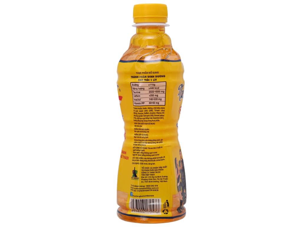 Thùng 24 chai nước tăng lực Number1 330ml 3