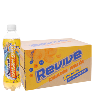 Thùng 24 chai Revive chanh muối 390ml