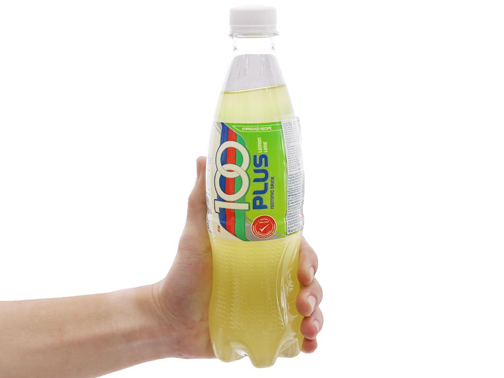 Thùng 24 chai nước ngọt 100Plus vị chanh 500ml 6