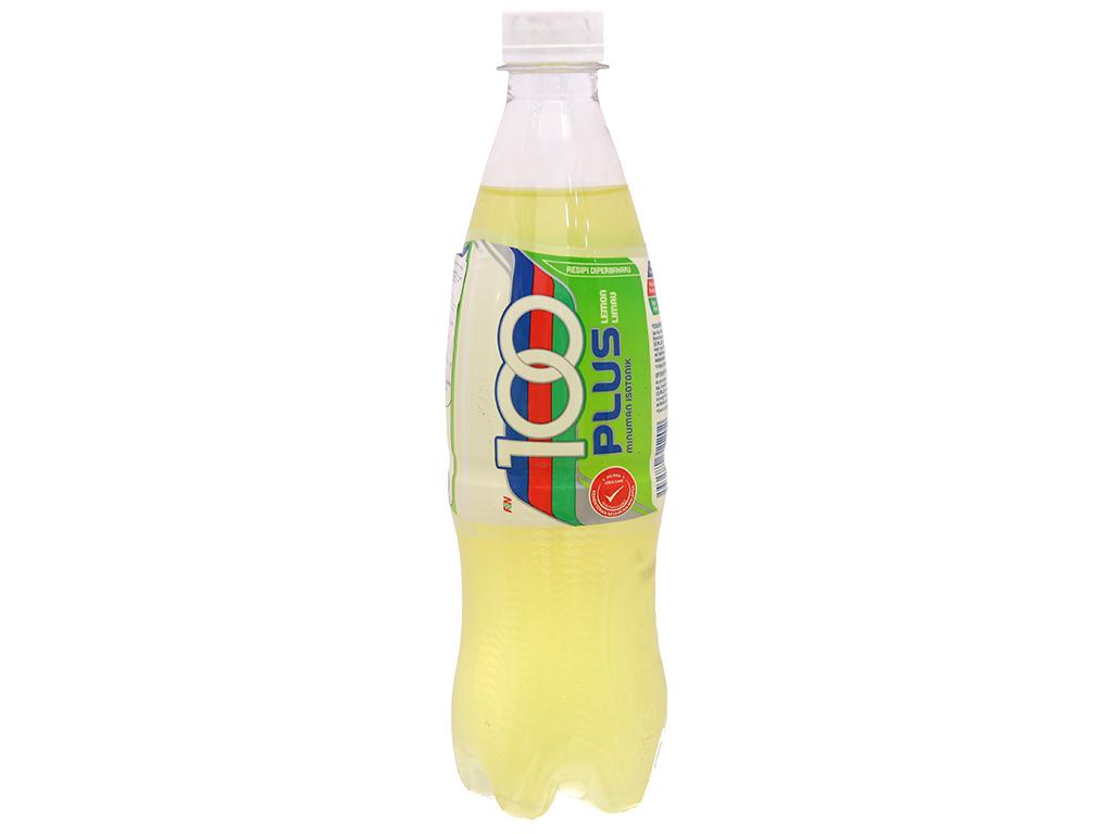 Thùng 24 chai nước ngọt 100Plus vị chanh 500ml 3