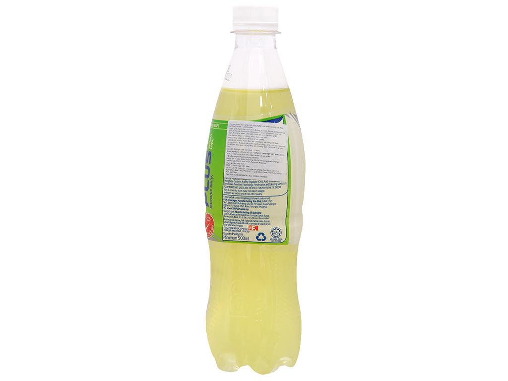 Thùng 24 chai nước ngọt 100Plus vị chanh 500ml 4