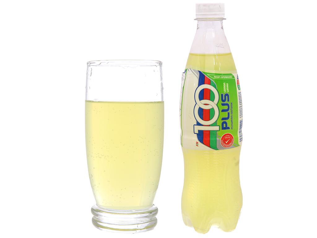 Thùng 24 chai nước ngọt 100Plus vị chanh 500ml 5