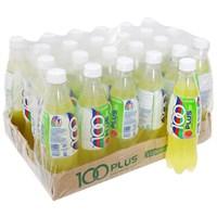 Thùng nước ngọt có ga Isotonic 100Plus hương Chanh 500ml (24 chai)