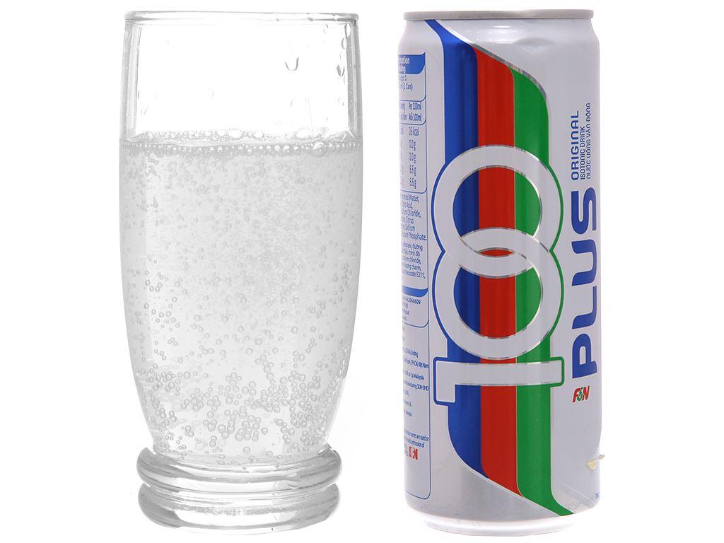 Thùng 24 lon nước ngọt 100Plus muối khoáng 325ml 5