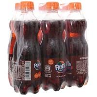 Nước ngọt Fanta hương Xá Xị chai 390ml (6 chai)
