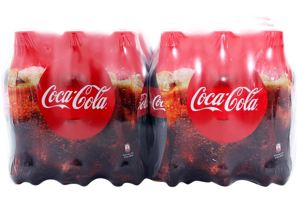Nước ngọt Coca Cola chai 390ml (thùng 24 chai)