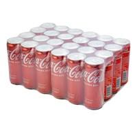 Nước ngọt Coca Cola sleek lon 330ml (Thùng 24 lon)
