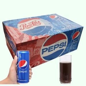 24 lon nước ngọt Pepsi Cola 330ml