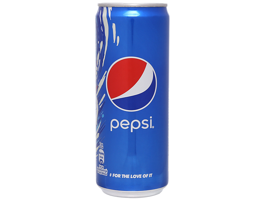 Thùng 24 lon nước ngọt Pepsi Cola 330ml 9